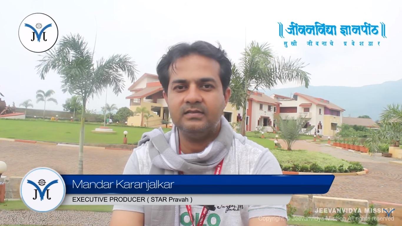 Testimonial_Mandar_Karanjalkar_Star_Pravah
